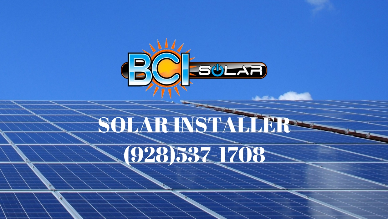 Local Solar Install | BCI SOLAR Installation Show Low, Arizona